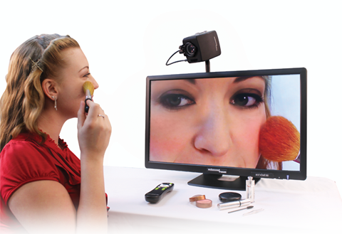 Acrobat HD LCD Girl Makeup