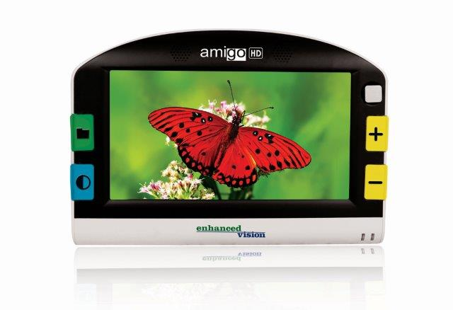 Amigo HD Portable Magnifier Butterfly