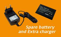 Blaze EZ Spare Battery and Extra Charger
