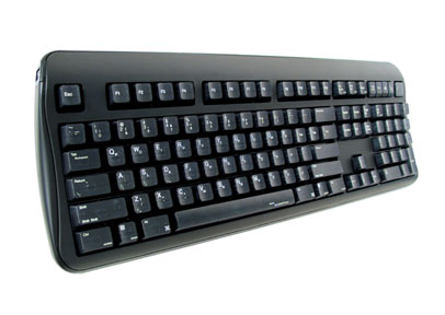 Half QWERTY One Handed Keyboard