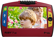 Ruby 7 HD Handheld Magnifier
