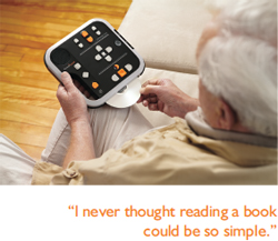 Victor Reader Stratus 12 M Senior user