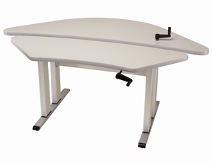 Equity 4240 adjustable hand crank table