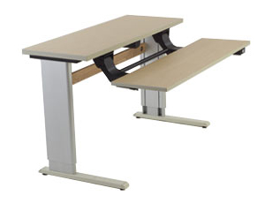 Infinity Adjustable Table Dual Surface with Keyboard Lift