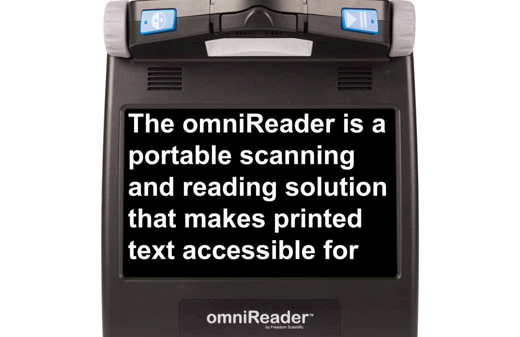 omniReader Scan and Read