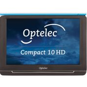 Compact 10 HD showing Optelec Logo